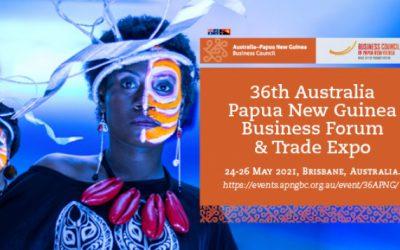 36th Australia Papua New Guinea Business Forum and Trade Expo Registration