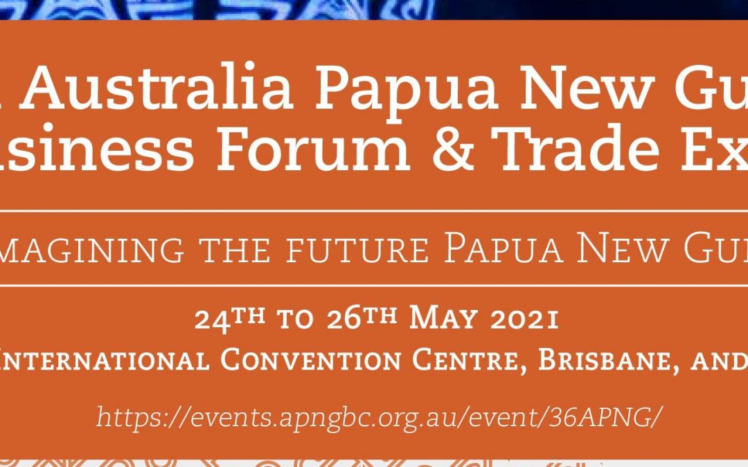 Outcome Statement for the 36th APNG Business Forum
